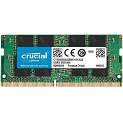 Chollo - Memoria RAM Crucial 8GB DDR4-2666 SODIMM - CT8G4SFRA266
