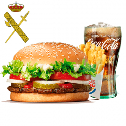 Chollo - Menú Gratis en Burger King para la Guardia Civil