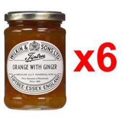 Chollo - Mermelada de naranja con Jengibre Tiptree (6x340g)