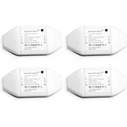 Chollo - Meross MSS710 Interruptores WiFi inteligentes Pack 4x