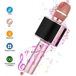 Chollo - Micrófono Bluetooth Karaoke Mbuynow D01