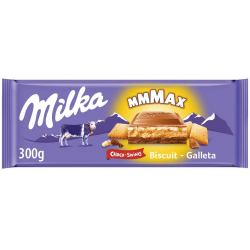 Chollo - Milka MMMAX Choco-Swing chocolate con galleta Tableta 300g | 33118