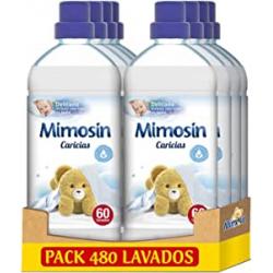 Chollo - Mimosín Caricias Suavizante concentrado Pack 8x 60 lavados