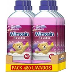 Chollo - Mimosín Moussel Suavizante Concentrado Pack 8x 60 Lavados