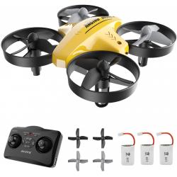 Mini Drone ATOYX AT-66 Series con tres baterías