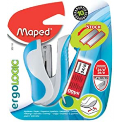 Chollo - Mini Grapadora Maped con 400 Grapas (Cofrap 352110)
