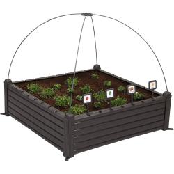 Chollo - Huerto Urbano Keter Raised Garden Bed (100x100x34cm)
