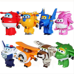 Chollo - Mini Robot Transformer Super Wings