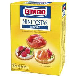 Chollo - Mini tostas redondas Bimbo 100g