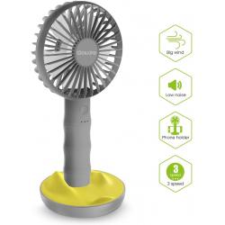 Chollo - Mini ventilador portátil Sawake Bamboo Fan - WT-F13