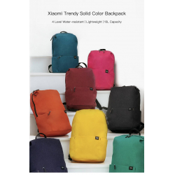 Chollo - Mochila Xiaomi Trendy Solid Color de 10L