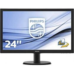 """Chollo - Monitor 24"""" Philips 243V5LHAB/00 FHD 1ms"""