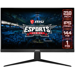 "Chollo - Monitor gaming 23.8"" MSI Optix G241 IPS FHD 144Hz FreeSync"