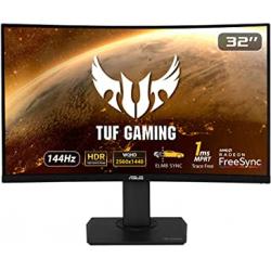"""Chollo - Monitor gaming curvo 32"""" ASUS TUF Gaming VG32VQ 144Hz HDR FreeSync"""