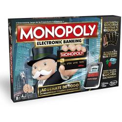 Chollo - Monopoly Electronic Banking Versión Española (Hasbro B6677105)