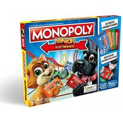 Chollo - Monopoly Junior Electrónico (Hasbro E1842105)