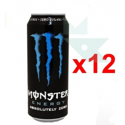 Chollo - Pack 12x Monster Energy Absolutely Zero (12x500ml)