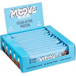 Chollo - Moove Bar Double brownie Barritas de proteína veganas Pack 12x 40g