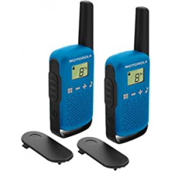 Chollo - Motorola TLKR T42 BLUE Walkie Talkie Pack 2x