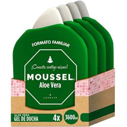 Chollo - Moussel Gel Ducha Aloe Vera Pack 4x 900ml