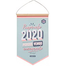Chollo - Mr. Wonderful Calendario de Pared Prepárate 2020 porque vengo arrasando