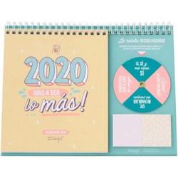 Chollo - Mr. Wonderful Calendario de sobremesa 2020 ¡Vas a ser lo más!