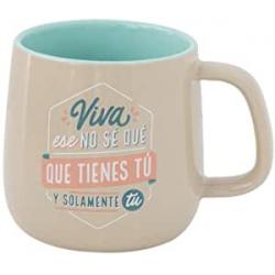 Chollo - Mr. Wonderful Viva ese no sé qué tienes tú y solamente tú Taza cerámica 365ml | WOA09823ES