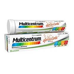 Chollo - Complemento alimenticio Multicentrum Adulto 20 comprimidos efervescentes