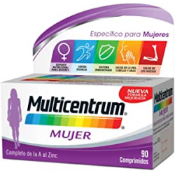 Chollo - Multicentrum Mujer Multivitamínico y Multimineral (90 Comprimidos)