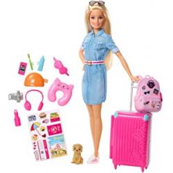 Chollo - Muñeca Barbie Vamos de viaje | Dreamhouse Adventures - Mattel FWV25
