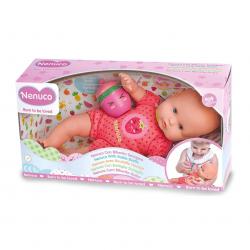 Chollo - Muñeco bebé Nenuco con Biberón Sonajero Rosa - Famosa 700014920