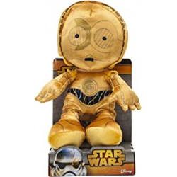 Chollo - Muñeco felpa C3-Po Velboa Star Wars 25cm - Joy Toy 1400619