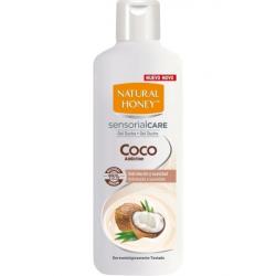 Chollo - Natural Honey gel de ducha Coco Addiction jabón baño hidratante 650 ml
