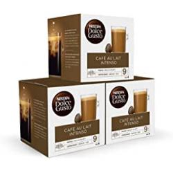 Chollo - NESCAFÉ Dolce Gusto Café con Leche Intenso Pack 3x 16 cápsulas