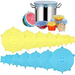 Chollo - Newdora Tapas de silicona 14 piezas