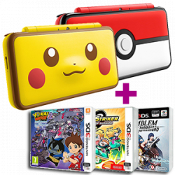 Chollo - New Nintendo 2DS XL + 2 Juegos a Elegir
