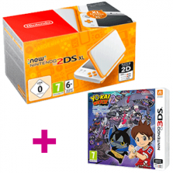 Chollo - New Nintendo 2DS XL + Yokai Watch 2 Mentespectros