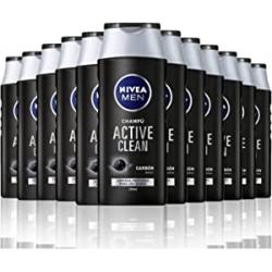 Chollo - Nivea Active Clean Carbón activo Champú Pack 12x 250ml