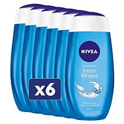 Chollo - Pack 6x Gel de ducha Nivea Fitness Fresh (6x250ml)
