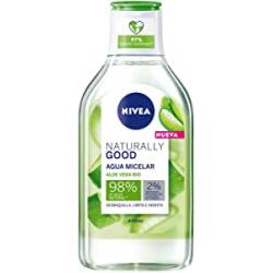 Chollo - Nivea Naturally Good Aloe Vera BIO Agua micelar 400ml
