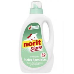 Chollo - Norit Diario Piel Sensible detergente líquido neutro hipoalergénico 40 Lavados