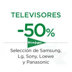 Chollo - Oferta -50% en Televisores en ECI