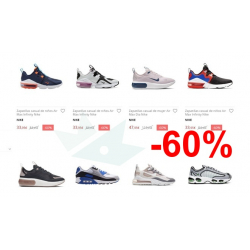 Chollo - Oferta -60% Zapatillas Nike en ECI