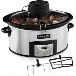 Chollo - Olla de Cocción Lenta Crock-Pot CSC012X 5.7L AutoStir