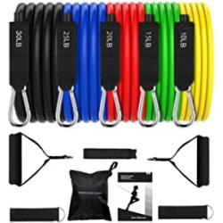 Chollo - Omorc Bandas elásticas para fitness 12 piezas