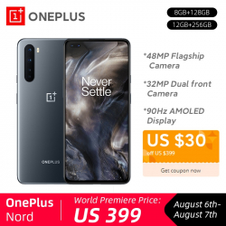 Chollo - Oneplus Nord 5G 8GB/128GB Versión Global