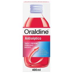 Chollo - Oraldine Antiséptico colutorio y anticaries Frasco 400ml