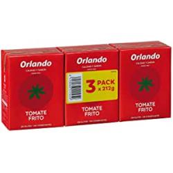 Chollo - Orlando Tomate Frito Clásico Pack 3 Brik 212g