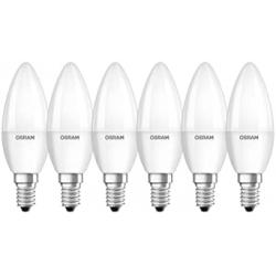Chollo - Osram Star Classic B Bombillas LED vela E14 5W Pack 6x