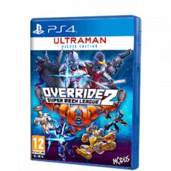 Chollo - Override 2: Super Mech League Ultraman Deluxe Edition - PS4 [Versión física]